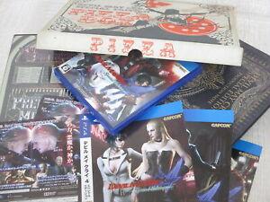DEVIL-MAY-CRY-4-Special-Edit-PIZZA-BOX-Art-Book-Complete-Set-PS4-CAPCOM-Ltd