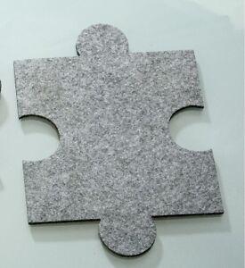 Feltro sotto capomacchlna Puzzle feltro sottobicchieri 4er Set parte di Gilde  </span>