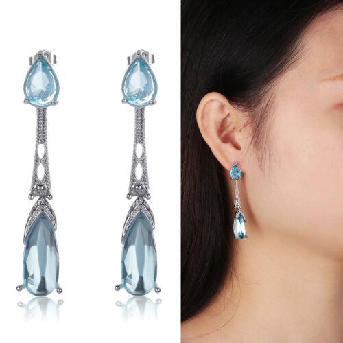 Women Jewelry Dangle Anniversary Drop Earrings Anniversary Gifts UK Stock