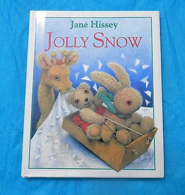 JANE HISSEY - JOLLY SNOW - BEAUTIFUL ILLUSTRATIONS - FINE WITH DJ
