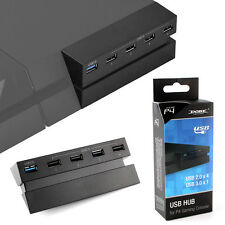 5 USB Port Hub for PS4, High Speed Charger Controller Splitter Expansion Adapter