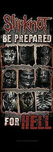 Slipknot-Be-Prepared-Fuer-Hell-Gross-Stoff-Poster-1500mm-x-530mm-Hr