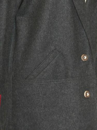 pour femmes laine de noire laine allemande designer en Veste de carrière SaqnHx08