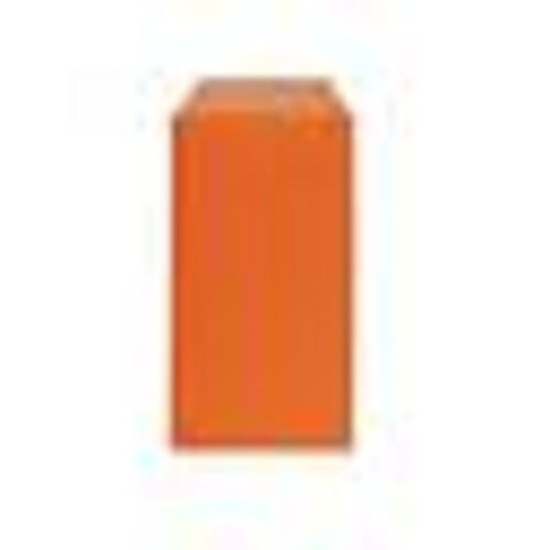 Lot 10 pouches bags pouches envelopes kraft jewelry gifts.. 7x12 orange new