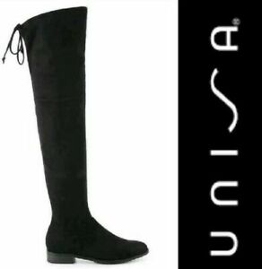 UNISA black Over-the-knee High Boots sz