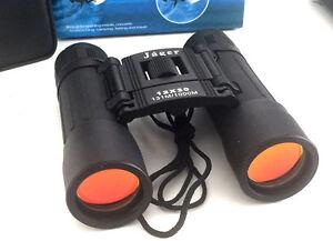 Jäger fernglas 12x30 klappbar feldstecher binocular opernglas neu