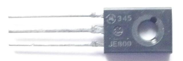 MJE800 Marked JE800 Motorola Trans Darlington NPN 60V 4A 3-Pin TO-225