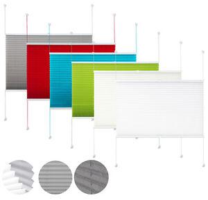 klemmfix plissee ohne bohren verdunkelung faltrollo jalousie verspannt 325 5 ebay. Black Bedroom Furniture Sets. Home Design Ideas