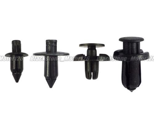 Total 20pcs Plastic Rivet Fastener Kit Assortment of 4 Popular Size of Trim Clip