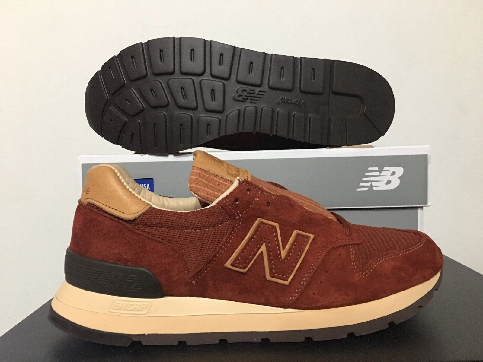 New Balance 995 Classics Baseball Pack Todd Todd Todd Snyder Tan Brown Made in USA M995DBG d5c242