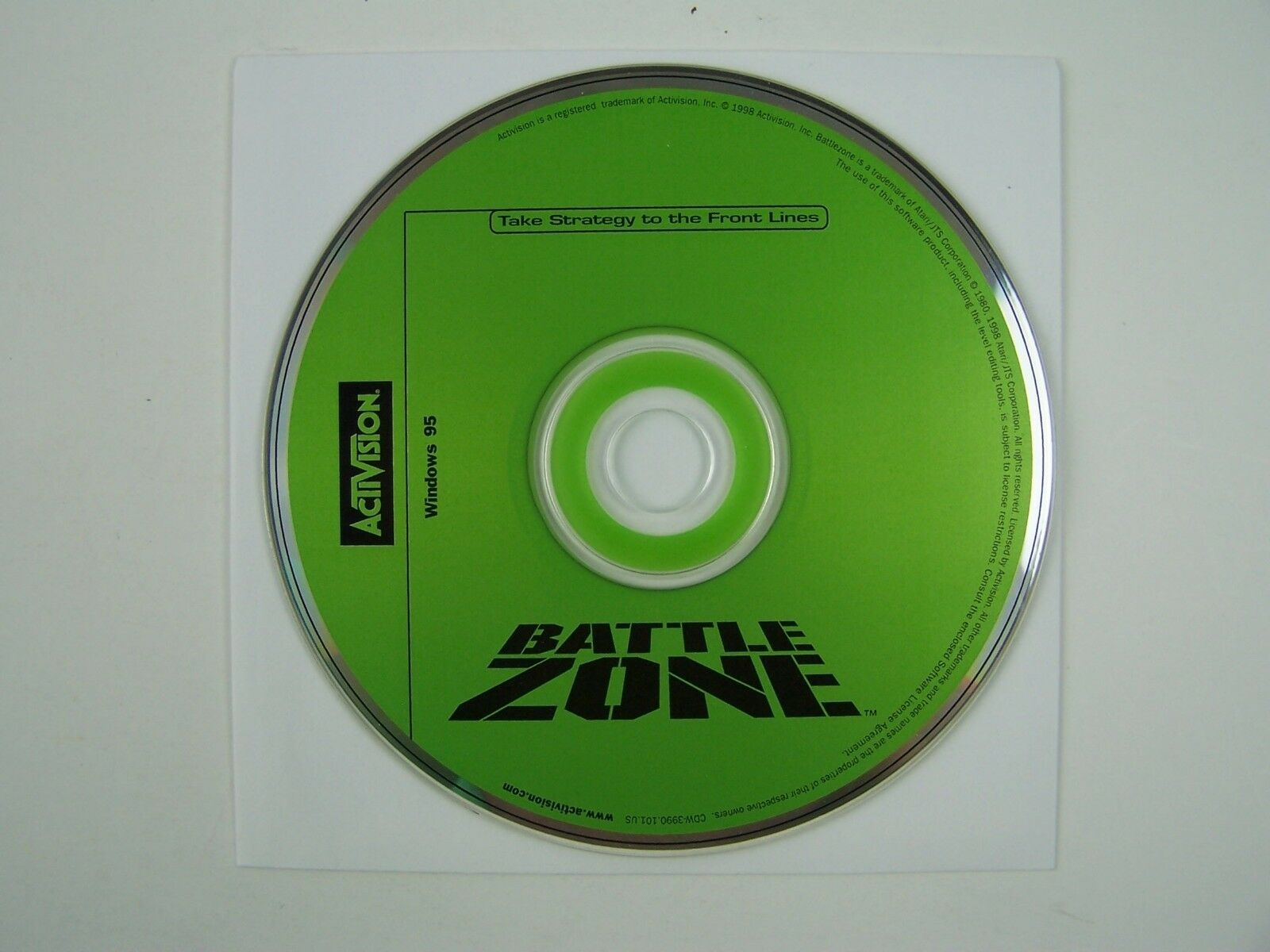 Battlezone - PC by Activision CD-ROM