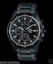 ee9a7741a882 EFR-526BK-1A1 Black Men s Watches Casio Edifice Chronograph 100m New