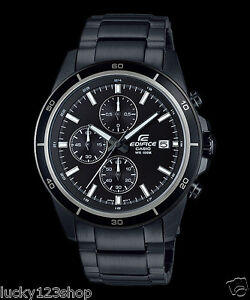 Details about EFR-526BK-1A1 Black Men s Watches Casio Edifice Chronograph  100m New 4c541fed66