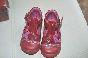 Détails sur chaussure neuve catimini pointure 20 rouge fleurs ponpons superbe