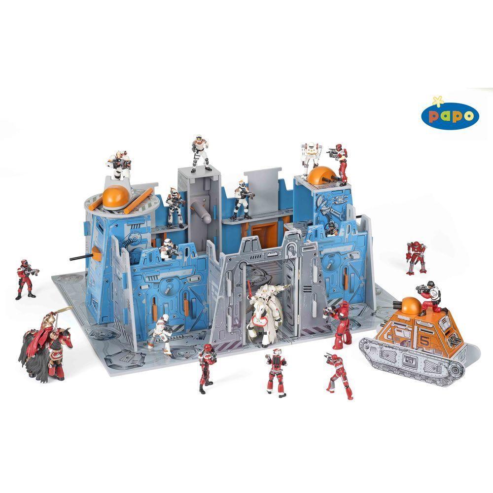 entrega de rayos Papo - 60400-Galactic Adventure Adventure Adventure Galactic Fortress  venderse como panqueques