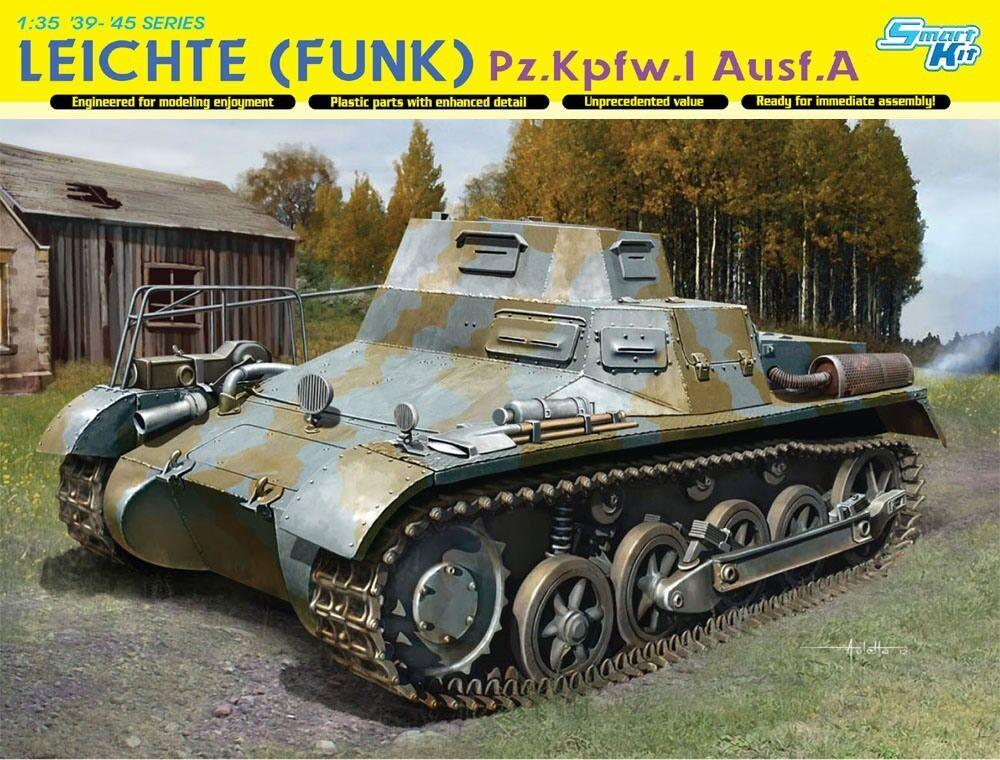 DRAGON 6591 Maquette Pz.Kpfw.I Ausf.A Radio