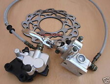 Dirt Pit Bike Parts Front Hydraulic Brake Caliper W/ Pads Disk 125cc 150cc