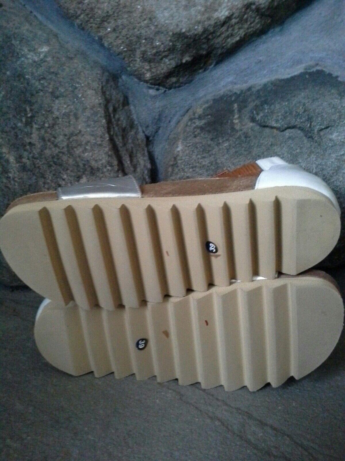 Urban by Outfitters Brigitta Cork Sandal by Urban LUMI Metallic Size 39 COMFORTABLE  196 c97370