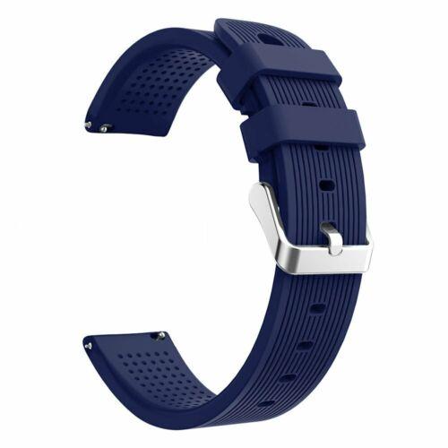 Laufbursche Zubehör Ersatz Armband Polar Ignite Silikon dunkelblau Sportarmband