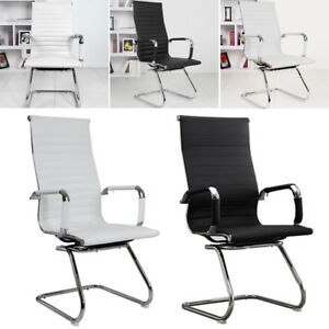 Incredible Details About Ergonomic High Back Executive Computer Office Desk Chair Dining Seat No Wheels Interior Design Ideas Inesswwsoteloinfo