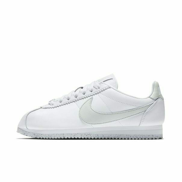 sale retailer 5ed0b cee4a Nike Wmns Classic Cortez FlyLeather White Grey AR4874-100 New Women's Shoes