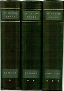 Wilhelm-Raabe-Collected-Werke-Romans-et-Recits-I-B1989842