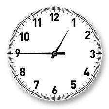 Porte clé Keychain Ø45mm Horloge Montre Clock Heure Minute Seconde Temps