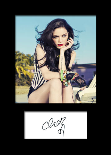CHER LLOYD #2 Signed Photo Print A5 Mounted Photo Print FREE DELIVERY
