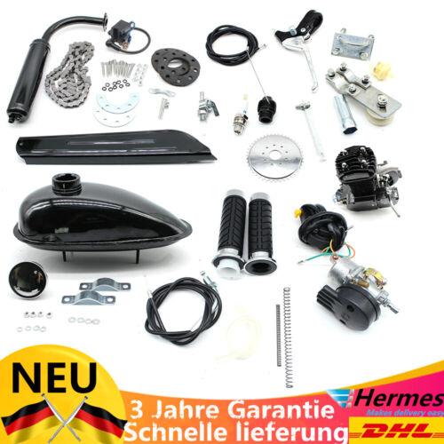 50cc 2-Takt Fahrrad Benzin Gas Motor Kit Zyklus motorisierte Fahrrad 30 km//h