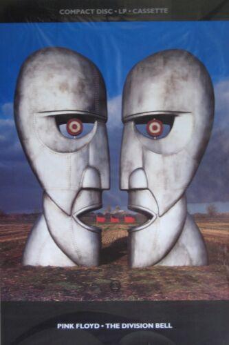 "40x60"" MASSIVE SUBWAY POSTER~Pink Floyd The Division Bell 1994 Original NOS Rare"