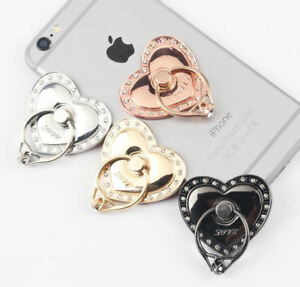 Universal-360-Rotating-Finger-Ring-Stand-Holder-For-Cell-Phone-Tablet-Hearts