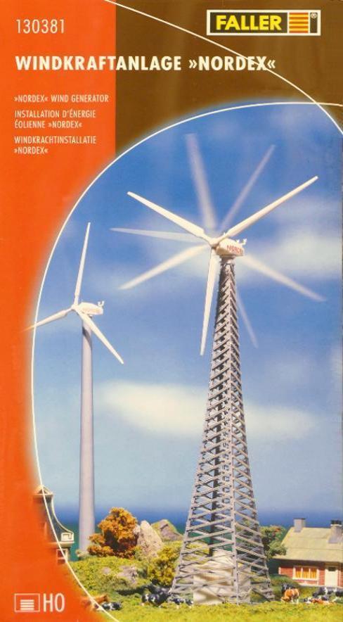 Faller 130381 H0 - Windkraftanlage   Nordex   NEU & OvP  | Mittlere Kosten