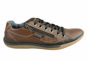 NEW-PEGADA-RANDY-MENS-LEATHER-LACE-UP-COMFORT-CASUAL-SHOES-MADE-IN-BRAZIL
