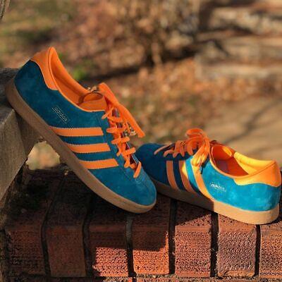 Adidas Originals Stadt Mens Teal Blue
