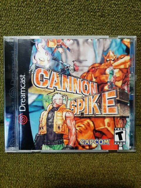 Cannon Spike, Dreamcast original disc, professional repro instructions and art!