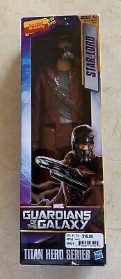 "NIB Marvel Guardians Of The Galaxy Titan Hero Series Star-Lord 12/"" Action Figure"