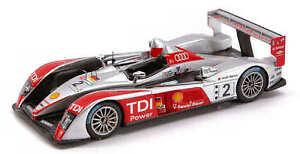 Audi R 10 # 2 Lm 2007 1:43 Modèle S0682 Spark