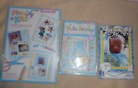 Memory Kits Baby Boy Craft Scrap Book Set Lot