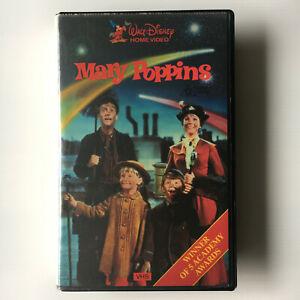Mary-Poppins-VHS-Video-Tape-Original-1984-Clamshell-Vintage-Walt-Disney-Film
