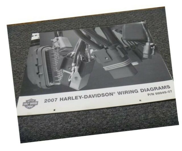 2007 Harley Davidson Wide Glide Motorcycle Electrical