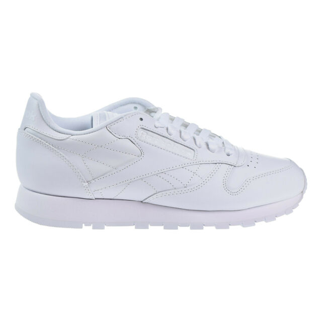 b37012deb6c583 Reebok Classic Leather Shoes White Comfortable Athletic Men SNEAKERS ...