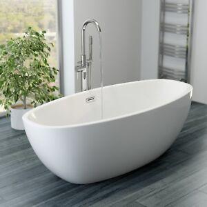 Superbe Image Is Loading Luxury Modern Freestanding Bath Egg Shaped Acrylic Bathtub