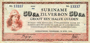 Suriname-P-104-50-cent-1942-VF