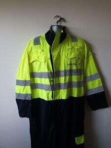 Hi-Vis-de-soldadura-PPE-ignifugo-Monos-Caldera-Traje-M-40R-40-034-pecho-568