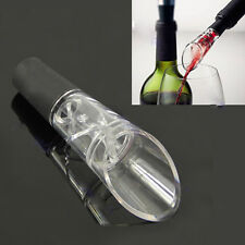 1Pc White Red Wine Aerator Pour Spout Bottle Stopper Decanter Pourer Aerating HY