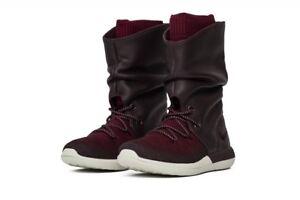 Nike Roshe Two Flyknit Hi Damen Stiefel 861708 600 Rot Hohe Schuhe Neu Gr.38 40