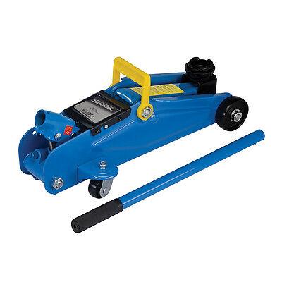Selbstbewusst, Befangen, Gehemmt, Unsicher, Verlegen Silverline Hydraulic Trolley Jack 2 Tonne Car Van Automotive Workshop