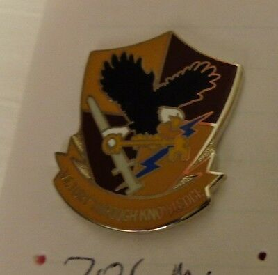 CREST DI, 706TH MILITARY INTELLIGENCE GROUP, CLUTCH BACK, S-38 HALL MARK