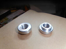"""3/8"""" NPT. Weld Bung MILD STEEL chopper Made in the  USA."""
