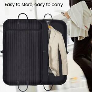Waterproof-Breathable-Cotton-Dress-Suit-Carrier-Cover-Garment-Travel-Bags-Black